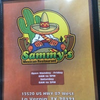 Photo taken at Sammy's Mexican Restaurant #2 by Mapes on 4/15/2015
