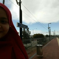 Photo taken at City West Train Station by Ameerah A. on 8/31/2015