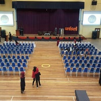 Photo taken at Pro - Chancellor Hall, UNISEL by Ameerah A. on 4/5/2016