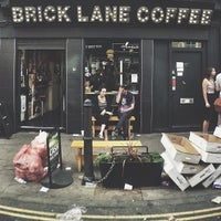 Photo taken at Brick Lane Coffee by Bal B. on 9/2/2013