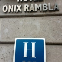 Photo taken at Hotel Onix Rambla by Andrey N. on 5/15/2013