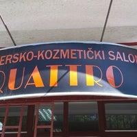 Photo taken at Frizerski salon Quattro by Мiroslav A. on 7/10/2013