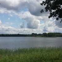 Photo taken at Pulgošņa ezers by Patrīcija D. on 7/7/2013