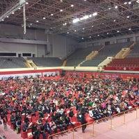 Photo taken at Suzhou Sports Center by Wen X. on 3/30/2016
