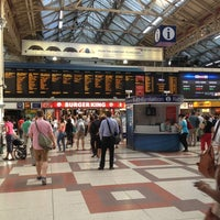 Photo taken at London Victoria Railway Station (VIC) by Tiago M. on 7/24/2013