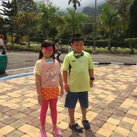 Photo taken at Minang Fantasy Waterpark by Lukas H. on 10/25/2014