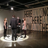 Photo taken at Amelie A. Wallace Gallery by Hyewon Y. on 4/22/2013