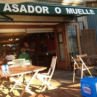 Photo taken at Asador O Muelle by Pablo S. on 7/3/2013