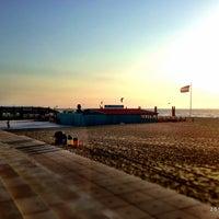 Photo taken at Scheveningse Strand by Sebastiaan V. on 7/9/2013