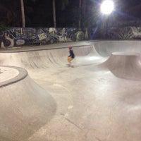Photo taken at Bowl Globe Skate Park by Alexey K. on 9/23/2014