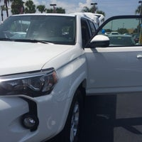 Photo taken at Mike Erdman Toyota by Michelle C. on 7/21/2014