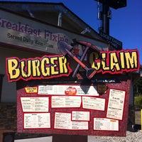Photo taken at Burger Claim by Dasha G. on 7/11/2013