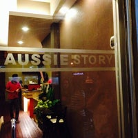 Photo taken at Aussie Story by Diana on 9/17/2014