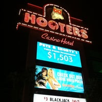 Photo taken at Hooters Hotel & Casino by Felipe C. on 10/25/2012
