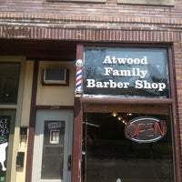 Photo taken at Atwood Family Barber Shop by Stuart H. on 8/20/2013