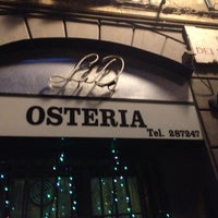 Photo taken at Osteria Nonna Gina by Simona S. on 1/4/2014