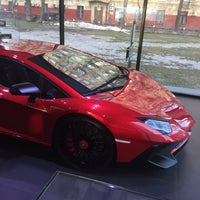 Снимок сделан в Lamborghini Moscow пользователем Yuriy Y. 3/9/2016