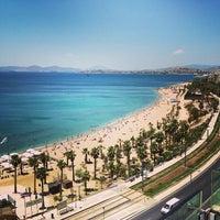 Photo taken at Poseidon Hotel by Tzinos A. on 6/20/2013