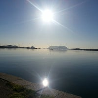 Photo taken at Olbia by Giovanni M. on 4/19/2013