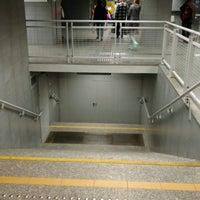 Photo taken at Metro Marymont by Krzÿsztof on 9/5/2016