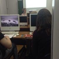 Photo taken at МГУП им. И. Федорова / Moscow State University of Printing Arts by Sasha S. on 3/26/2014