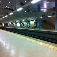 Photo taken at Metro Alfornelos [AZ] by Emílio C. on 4/15/2013