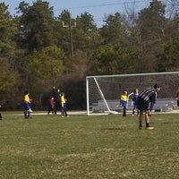 Photo taken at LMSA Soccer by Jennifer H. on 4/5/2014
