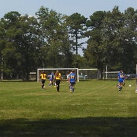 Photo taken at LMSA Soccer by Jennifer H. on 9/8/2013