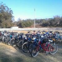 Photo taken at Richard Moya Park by Jon T. on 11/18/2012