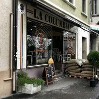 Das Foto wurde bei La Columbiana Kaffeerösterei von bhohlmann am 5/17/2013 aufgenommen