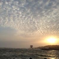 Photo taken at Kanyakumari Beach by Prashant S. on 5/16/2013
