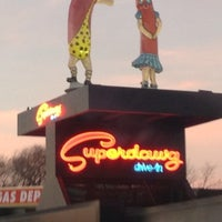 Photo taken at Superdawg Drive-In by Romeo M. on 12/13/2012