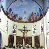 Photo taken at Iglesia Santa Eduvigis by Humberto F. on 8/10/2014