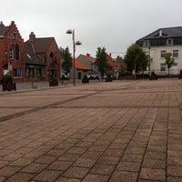Photo taken at Markt Zonnebeke by Jens B. on 10/24/2013