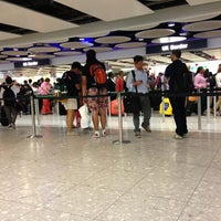 Photo taken at Security/Passport Control - T4 by S.A . on 8/4/2013