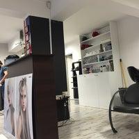 Photo taken at Scissors Hair Studio by Гергана Д. on 2/9/2016