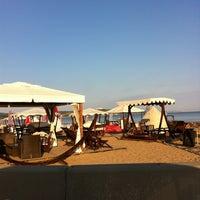 Photo taken at Yelken Beach by Ali M. on 8/4/2013