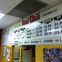 Photo taken at Real Chili by Marques on 6/13/2013