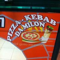 Photo taken at Pizza Kebab Da Milon by Alberto T. on 5/7/2014