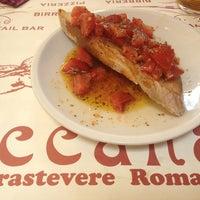Photo taken at Baccanale Trastevere by Bobana U. on 6/24/2013
