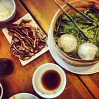 Photo taken at Nan Xiang Xiao Long Bao by Chris C. on 4/14/2013