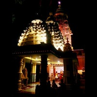 Photo taken at Kali Bari by Ratul M. on 10/23/2014