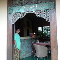 Photo taken at Sekar Jagat Spa Bali by Donna S. on 3/3/2014