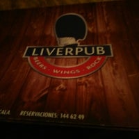 Photo taken at Liverpub by K-rla G. on 2/15/2014