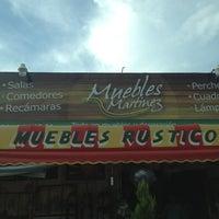 Photo taken at Muebles Martinez by Gerardo P. on 7/20/2013