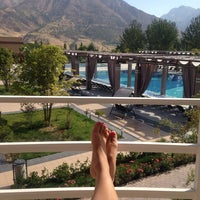 Photo taken at CHAROS DELUX RESORT & SPA by J. G. on 9/11/2014