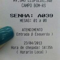 Photo taken at Banco Do Brasil by Daaia O. on 4/23/2013