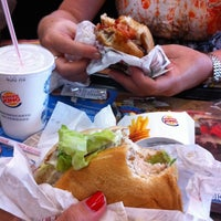 Photo taken at Burger King by Hévila P. on 1/12/2014