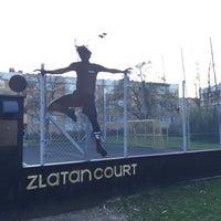 Photo taken at Zlatan Court by Maryana M. on 4/23/2016