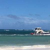 Photo taken at Playa Los Corales by Yara R. on 12/24/2016